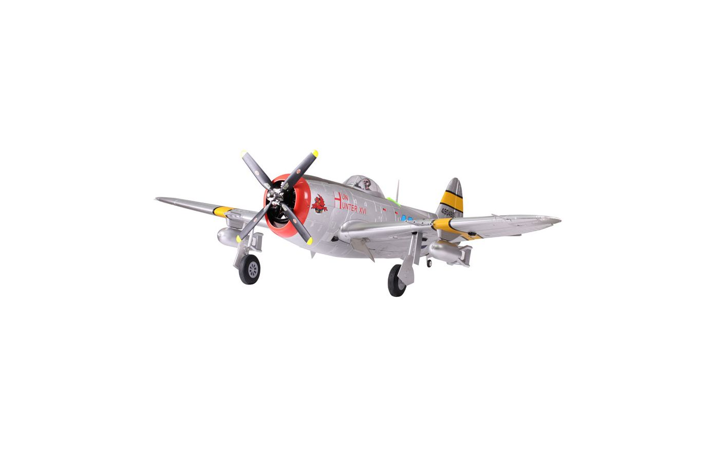 Image for P-47 Thunderbolt PNP, 1700mm: Silver from Force RC