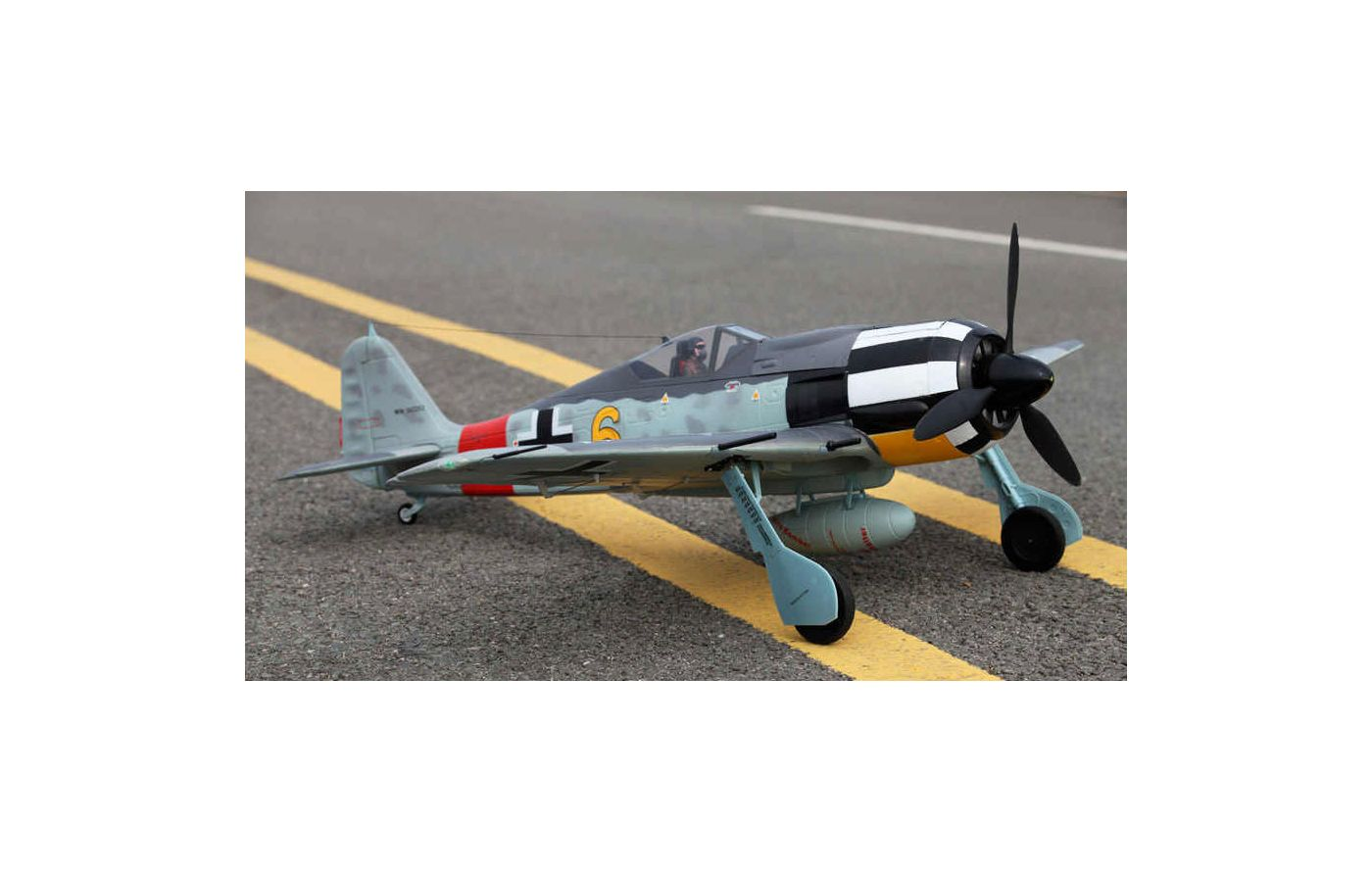 Image for FW190-Y6 1400mm, PNP from Force RC
