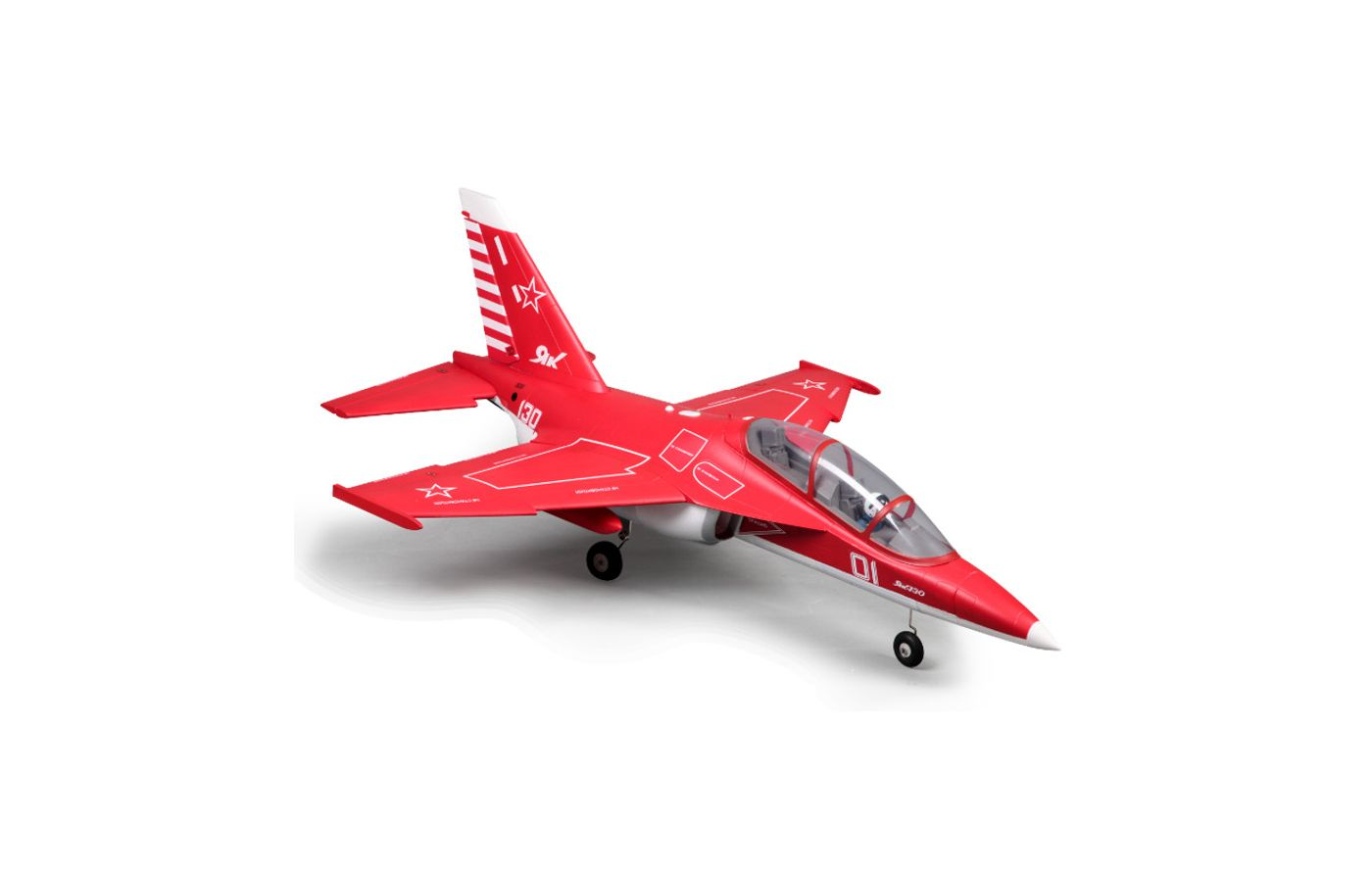 Image for Yak 130 Jet PNP, 70mm: Red from Force RC