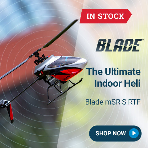BLH2900 Blade mSR S RTF/BNF with SAFE Technology