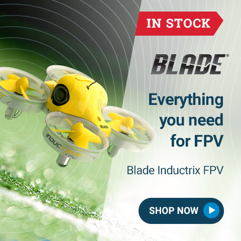 BLH8500/80 Blade Inductrix FPV RTF and BNF