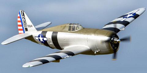 FMM089P FMS P-47 Razorback PNP, 1500mm: Bonnie