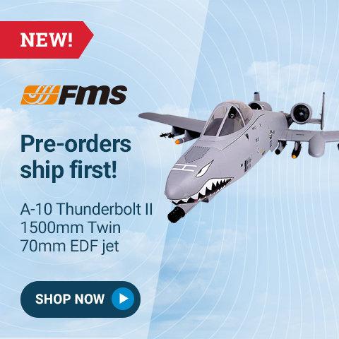 FMM094P FMS A-10 Thunderbolt II PNP, EDF 70mm Fans