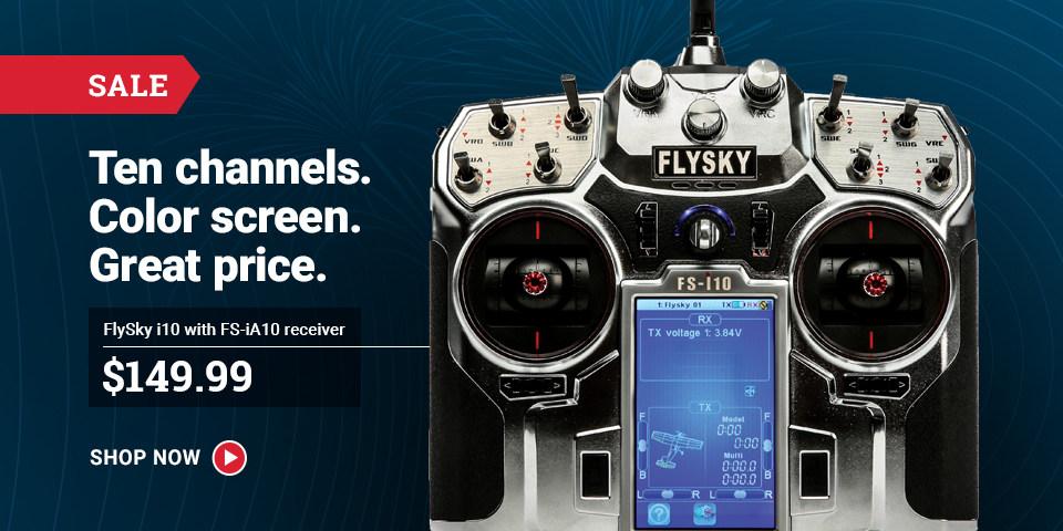 FSY004 FS-i10 Transmitter and FS-iA10 Receiver