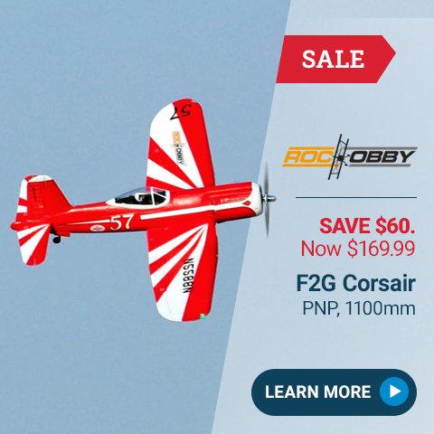 ROH009P RocHobby F2G Corsair PNP, 1100mm