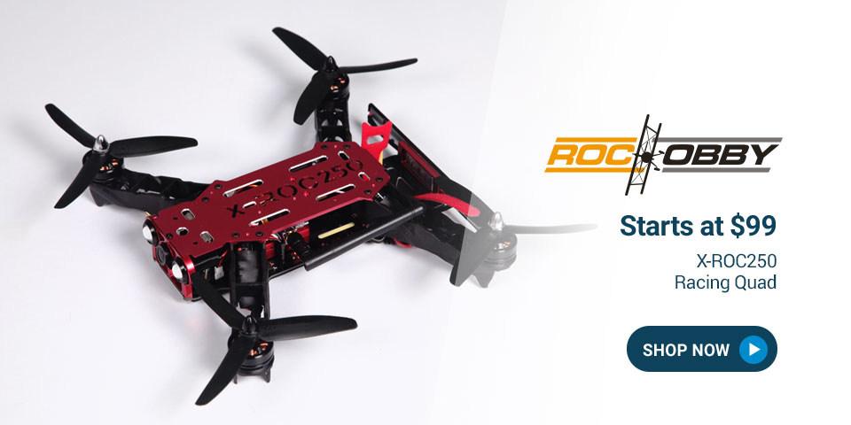 ROH017 RocHobby X-ROC250 Racing Quad