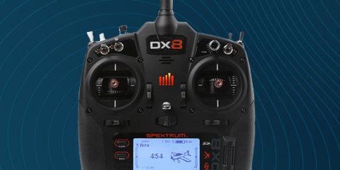 SPM8000/SPMR8000 Spektrum DX8 8-Channel DSMX Transmitter Gen 2