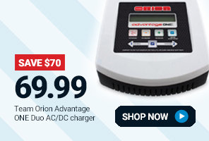 ORI30243 Team Orion Advantage ONE Duo AC/DC Charger