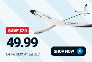 EFLU3150 E-flite UMX Whipit DLG BNF-Basic