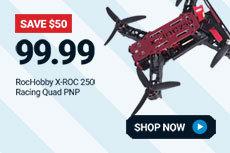 ROH017P RocHobby X-ROC250 Racing Quad PNP