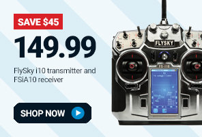FSY004 Fly Sky FS-i10 Transmitter and FS-iA10 Receiver