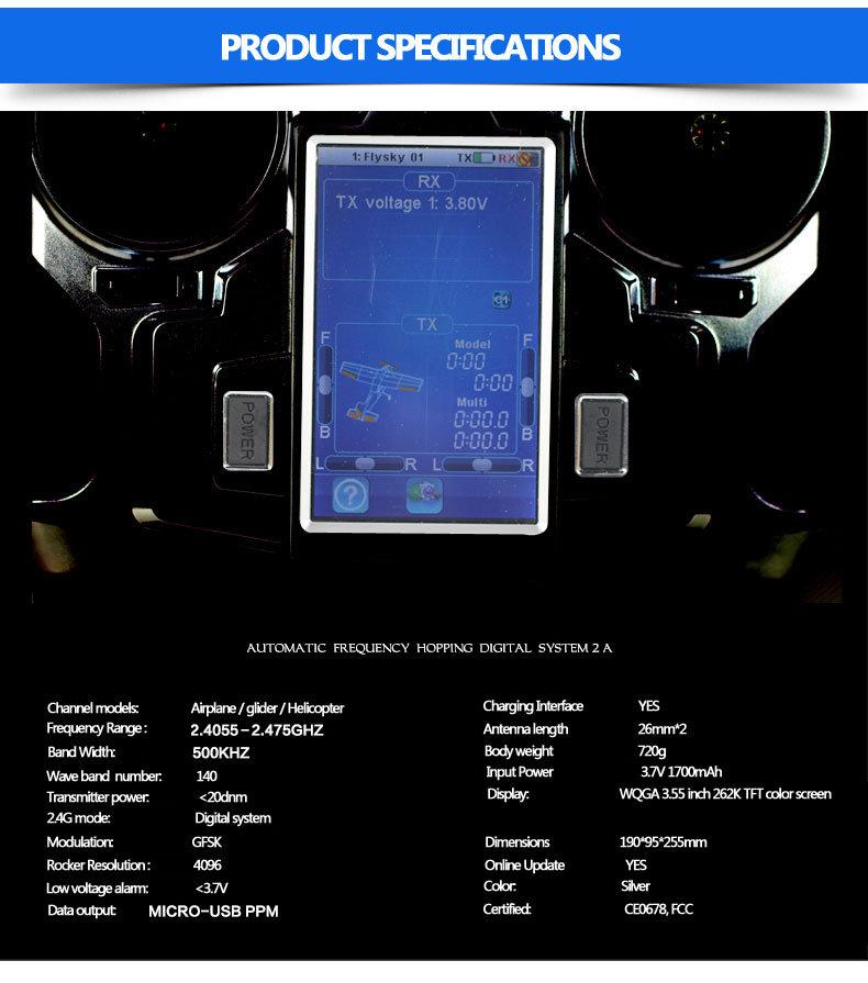 FS-i10 Transmitter and FS-iA10 Receiver | HorizonHobby