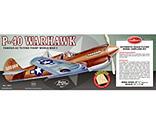 Guillow - Curtiss P40 Warhawk Laser Cut