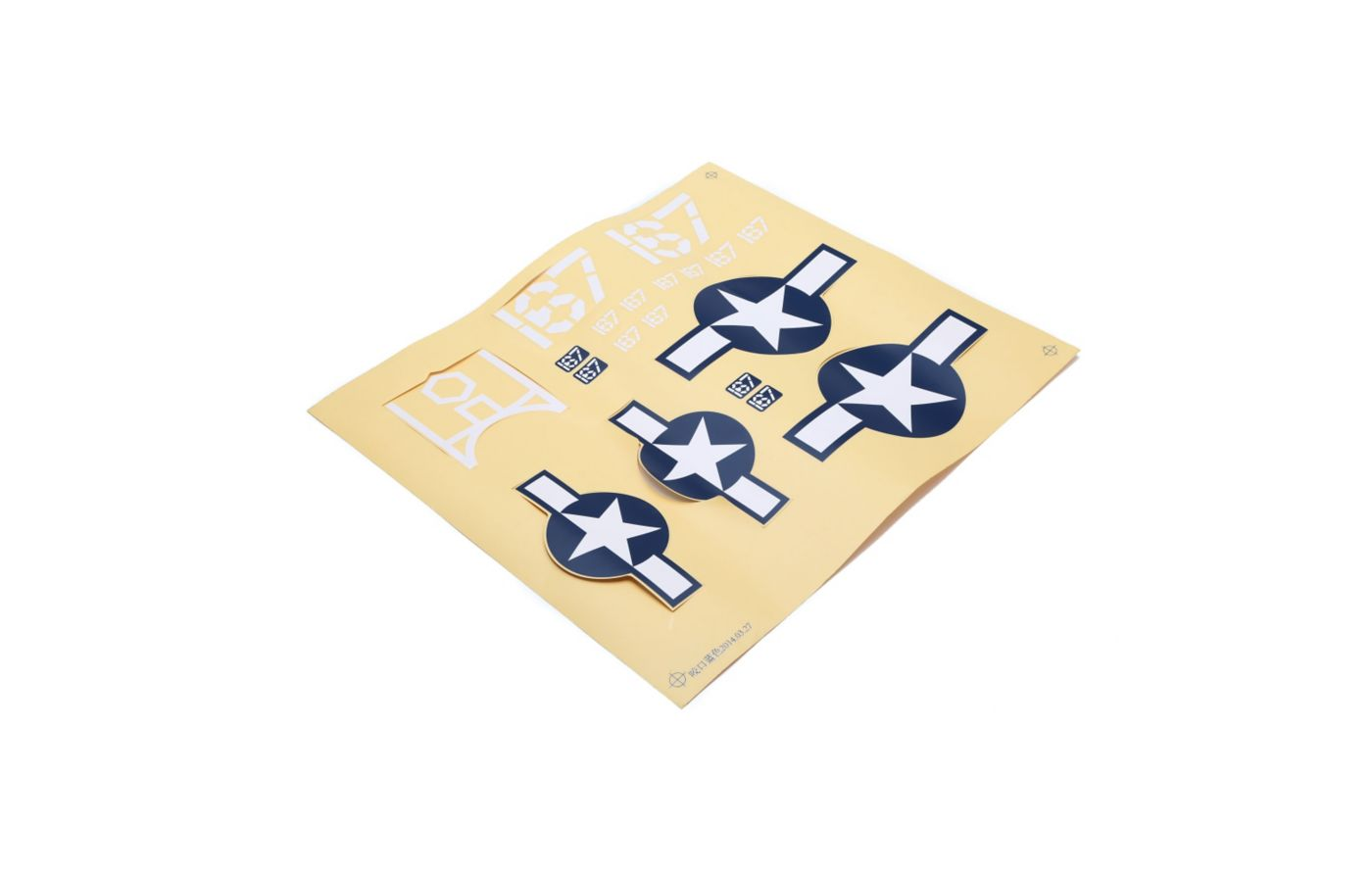 Image for Decal Sheet: Corsair S from Force RC