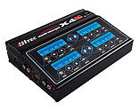 Hitec RCD Inc. - X4 AC+ 4 Channel AC/DC Charger