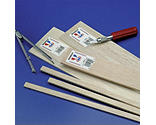Midwest Products Co. - Balsa Sheets 1/8 x 4 x 36 (15)