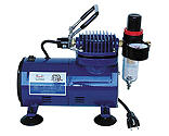 Paasche Airbrush Company - D500 Compressor with R75 Regulator