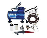 Paasche Airbrush Company - Airbrush & Compressor Package: HSET, D500SR, & AC7