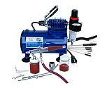 Paasche Airbrush Company - Airbrush & Compressor: VLSET, D500SR, DVDVL & AC7