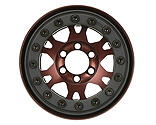 Pro-line Racing - Pro-Forge 1.9 Bronze, Aluminum, Black, Bead-Loc, Front/Rear Wheels (2