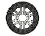 Pro-line Racing - Pro-Forge FaultLine 1.9 Clear Aluminum Black  Bead-Loc Front/Rear Wheels (2)