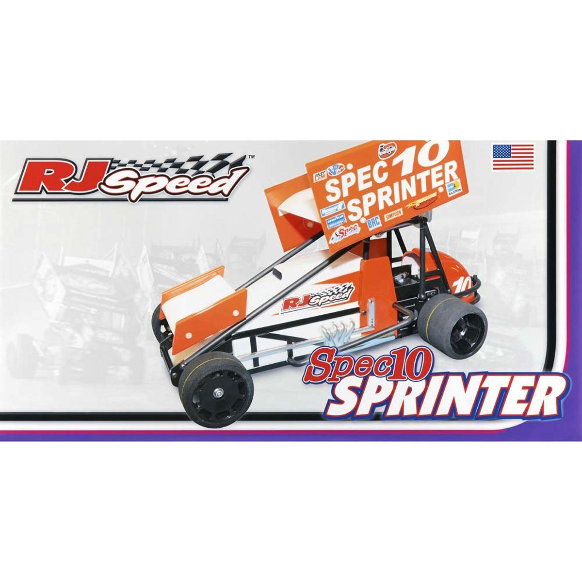 Details About Rj Sd 1 10 Electric Spec10 Sprinter Sprint Car Kit