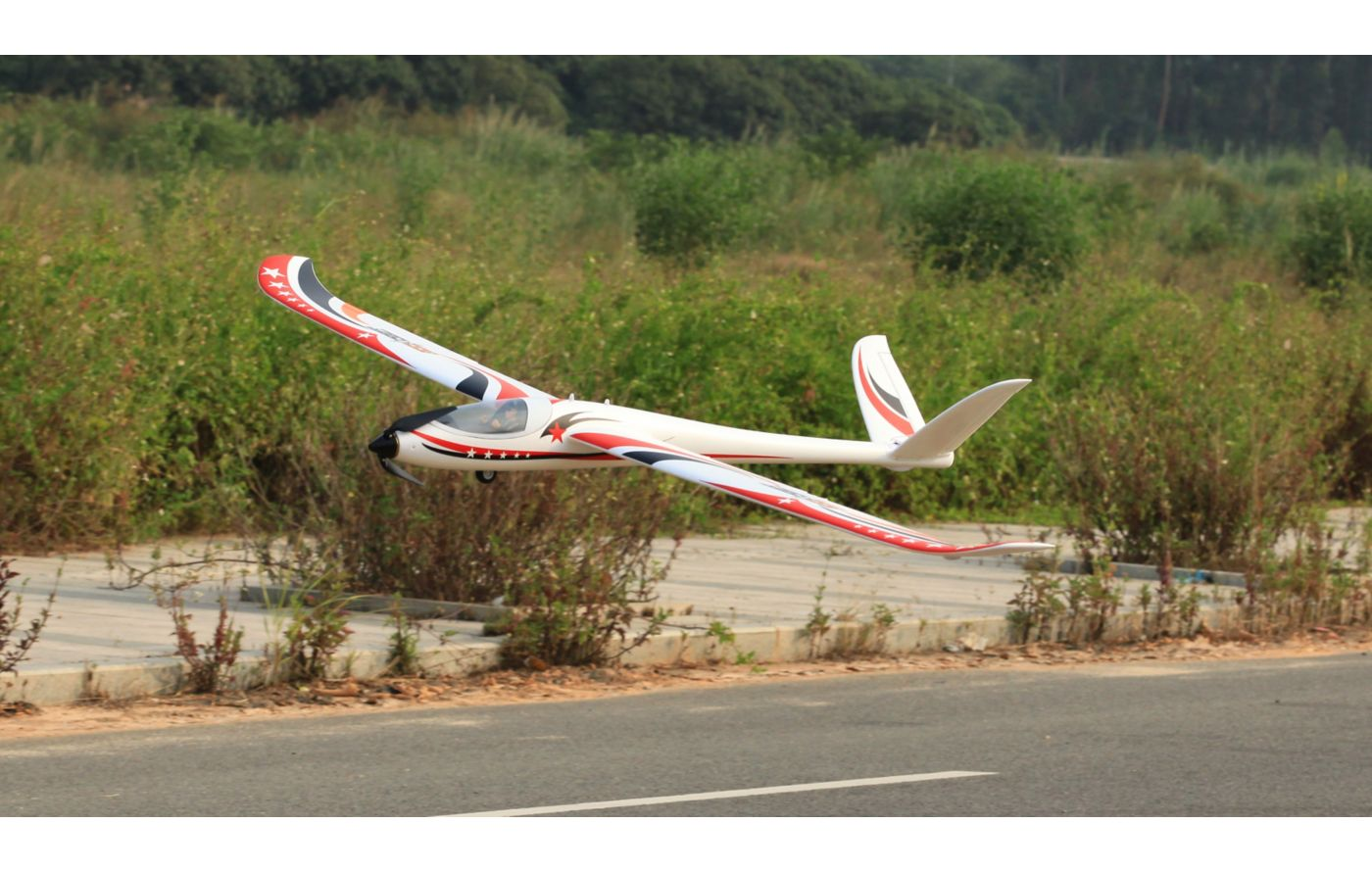 Image for V-Tail Glider 2.2m PNP from Force RC