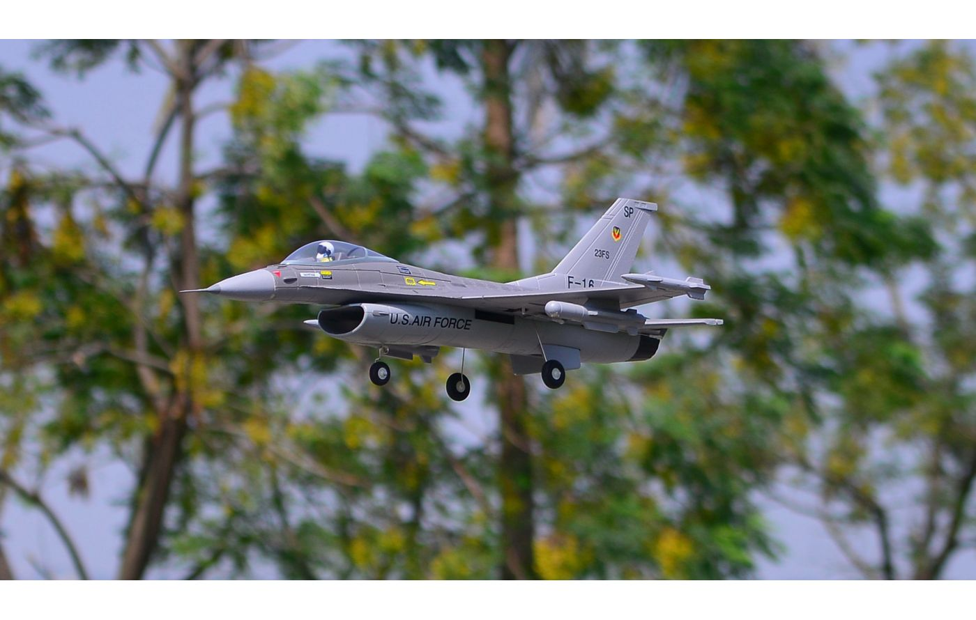 Image for F-16 V2 PNP, 64mm Fan from Force RC