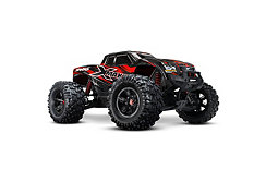 1/6 X-Maxx 4WD Truck RTR with TSM, TQi 2.4GHz, VXL-8S, Red
