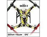Upgrade R C - Skin, Sketchy Yellow: Blade 350 QX3