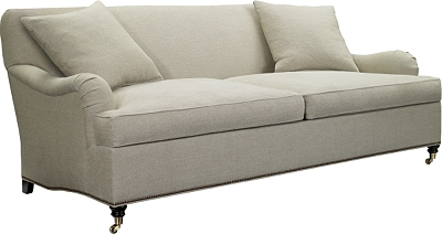 Perfect Silhouettes Made To Measure English Arm Sofa from the Silhouettes  VV81