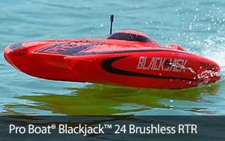 Pro Boat Blackjack 24-inch Catamaran Brushless rtr prb08007