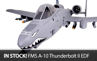 FMS A-10 Thunderbolt II Electric Ducted Fan EDF RC Jet FMM094P