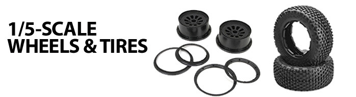 1/5-scale Wheels Tires JConcepts J-Concepts J Concepts Pro Line Proline PL AKA Dynamite Losi Radio Remote Control