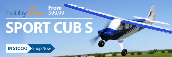 HobbyZone Sport Cub S Teach Yourself to Fly Trainer Airplane with SAFE Technology