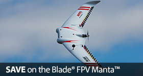 Save Up To $150 on the Blade Manta FPV Flying Wing