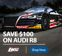 Save $100 off the Losi R8 1/6 scale RTR AVC