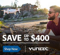 Save up tp $300 off Select Yuneec Camera Drones Multirotor