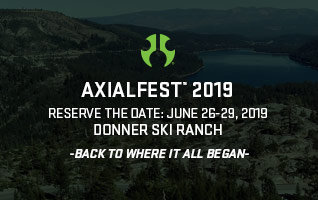 Save the Date for Axialfest 2019 - June 26-29