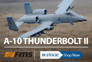 FMS A-10 Thunderbolt II PNP Ducted Fan Scale Warbird