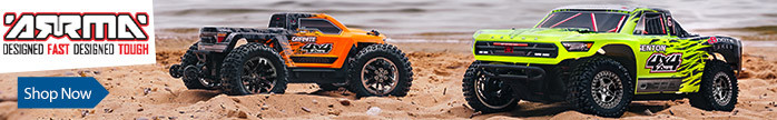 Shop All ARRMA Vehicles - RC Trucks, Buggies, and powerful all-terrain vehicles - Designed Fast. Designed Tough.