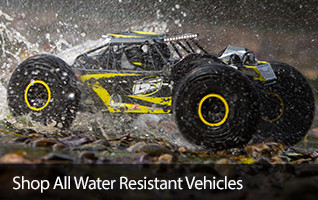 Water Resistent Resistant Vehicles Buggy Crawlers RTR Ready To Run