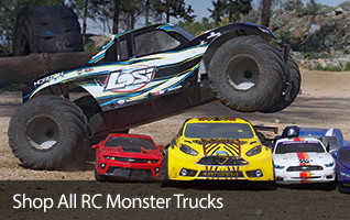 RC Monster Truck Mini Micro Bash Backyard Basher Traxxas Losi MTXL X-Maxx T-Maxx RTR Ready To Run