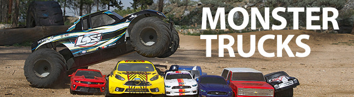 Shop all RC Monster Trucks Losi XXL X-Maxx T-Maxx TMX XMX Traxxas