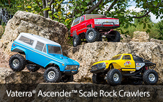Ascender RTR Kit Off Road Scale Crawler Ford Chevy Chevrolet C10 C5 Blazer