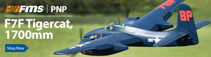 FMS F7F Tigercat PNP RC Parkflyer Warbird Airplane