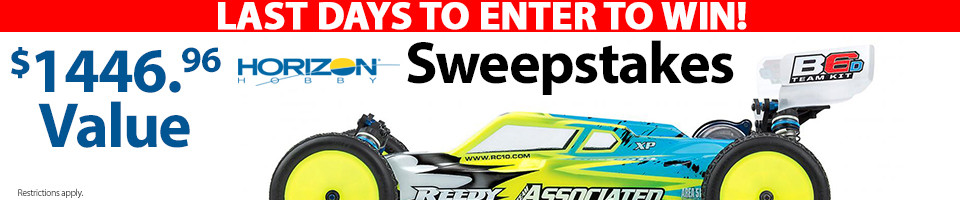 Enter to win a Team Associated B6D Prize Pack