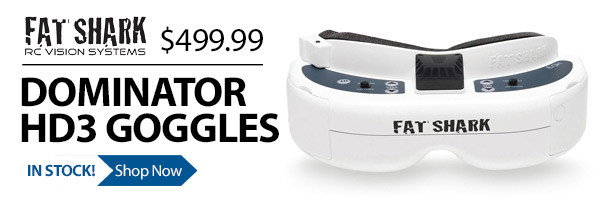 Fat Shark Dominator HD3 FPV Goggles
