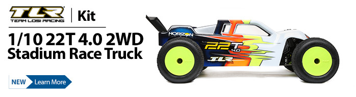 Race to the front of the pack with the TLR 22T 4.0 Racing Truck