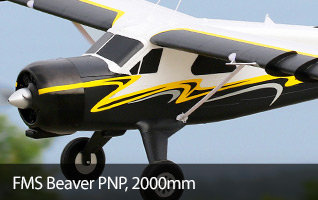 FMS Beaver PNP, 2000mm Scale RC Airplane